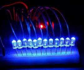 Running LEDs Arduino Uno