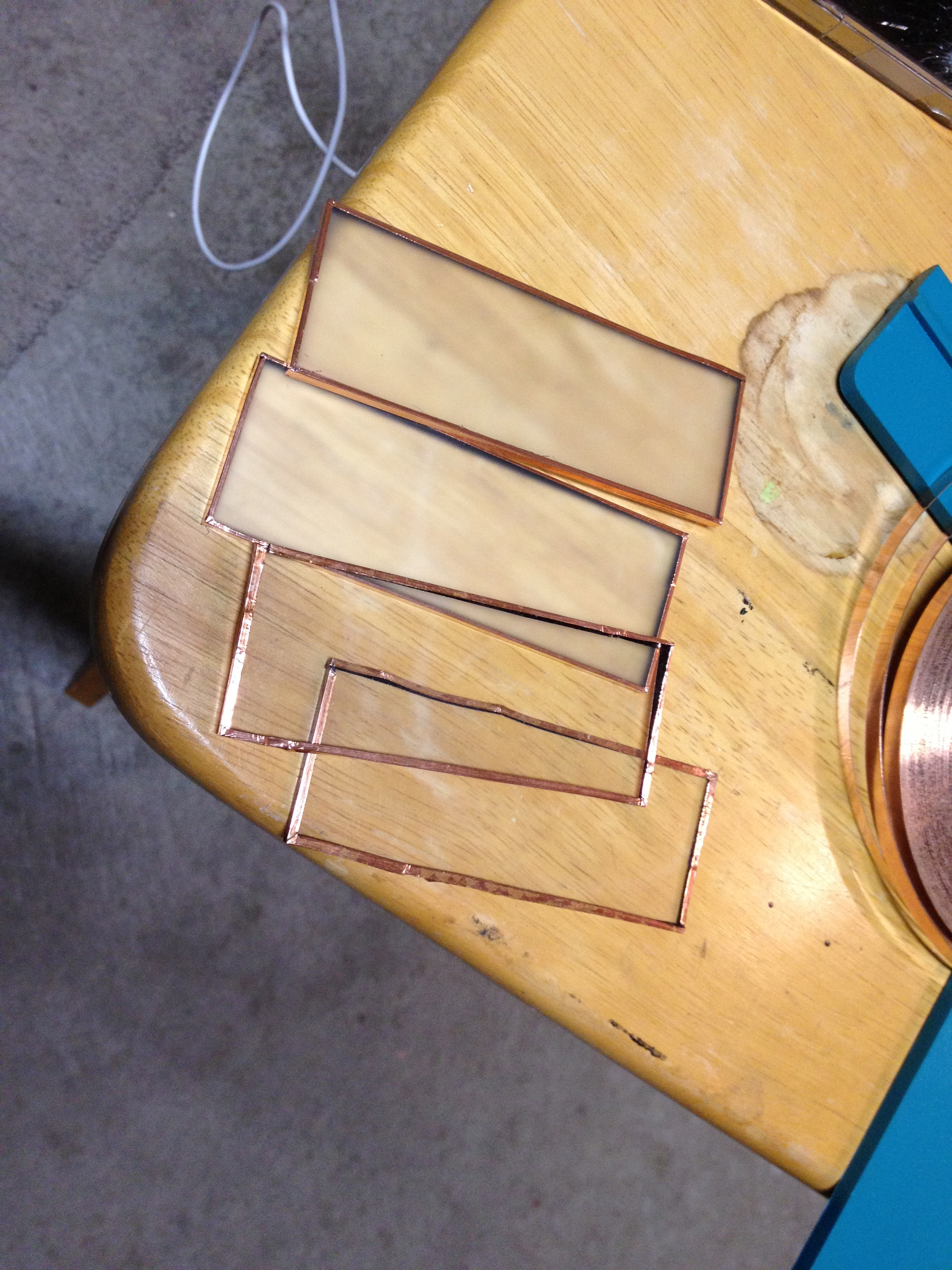 Picture of Adding the Copper Foil