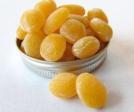 Homemade Lemon Drops