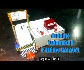 Arduino Automated Car Parking System.