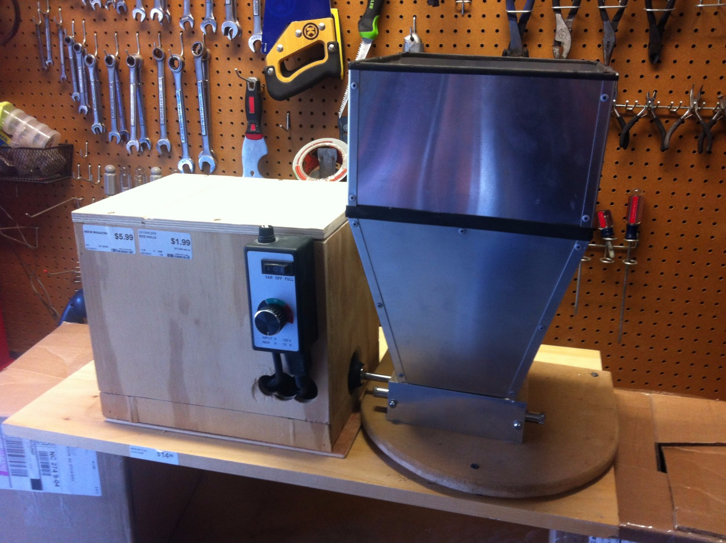 Picture of Build a Quiet Home Brewing Grain Mill