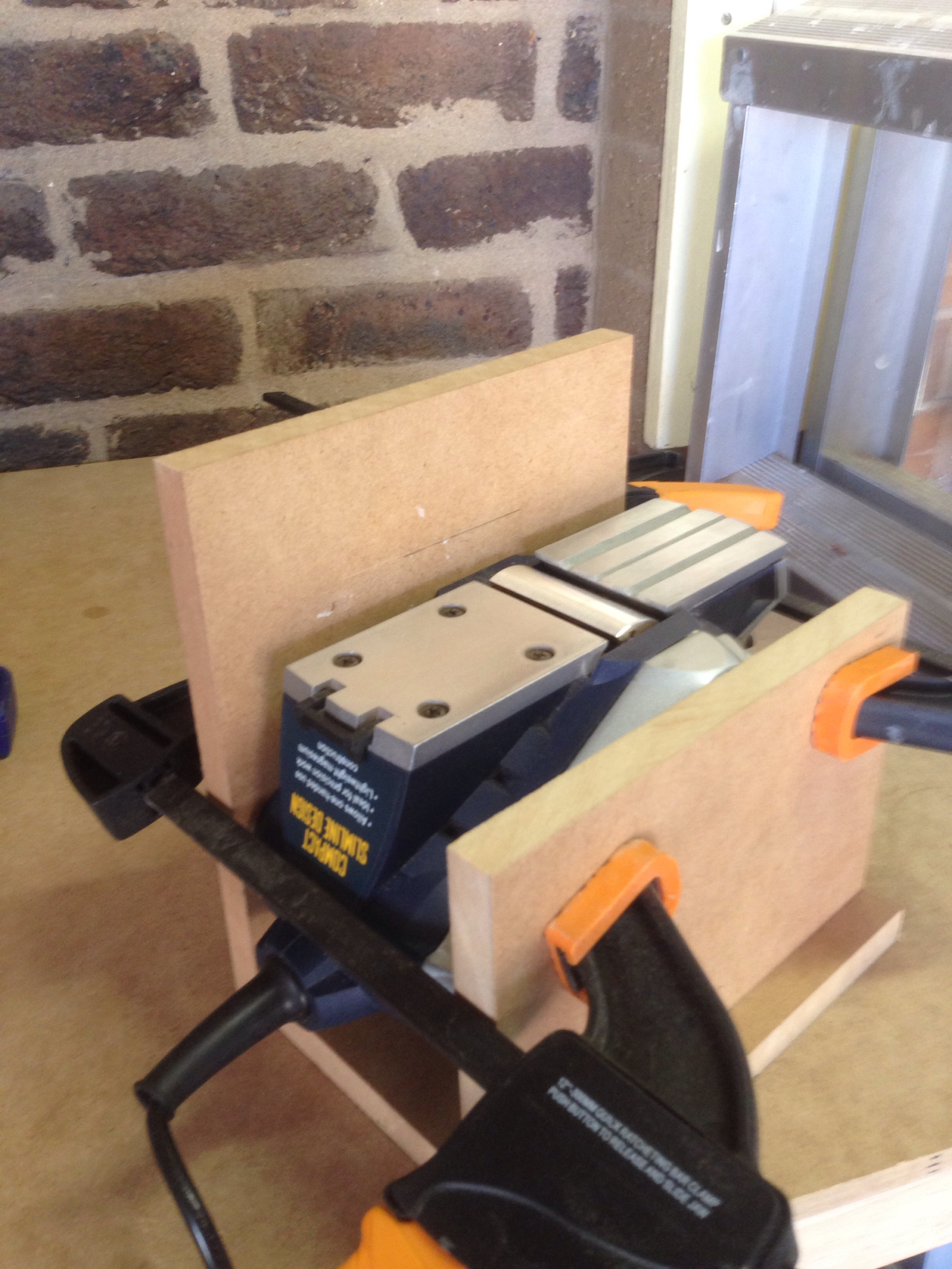 Picture of Hand Held Plane - Convert to Mini Jointer