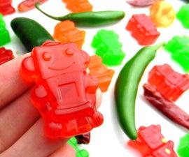 Spicy Gummy Snacks