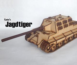 Carter's Lasercut Tank - Jagdtiger