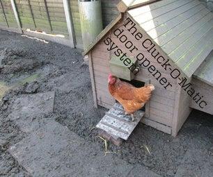 Automatic Chicken Door Opener With PICAXE