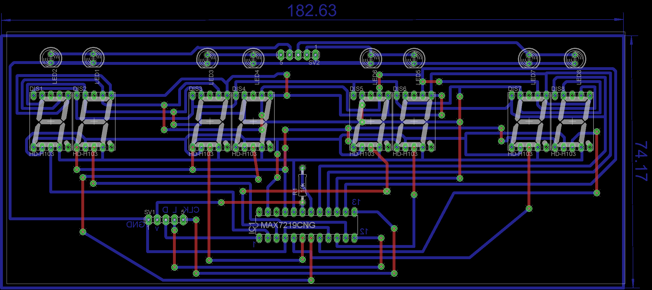 Picture of Design of PCB