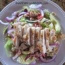 Asian Chicken Salad with Cilantro Lime Dressing