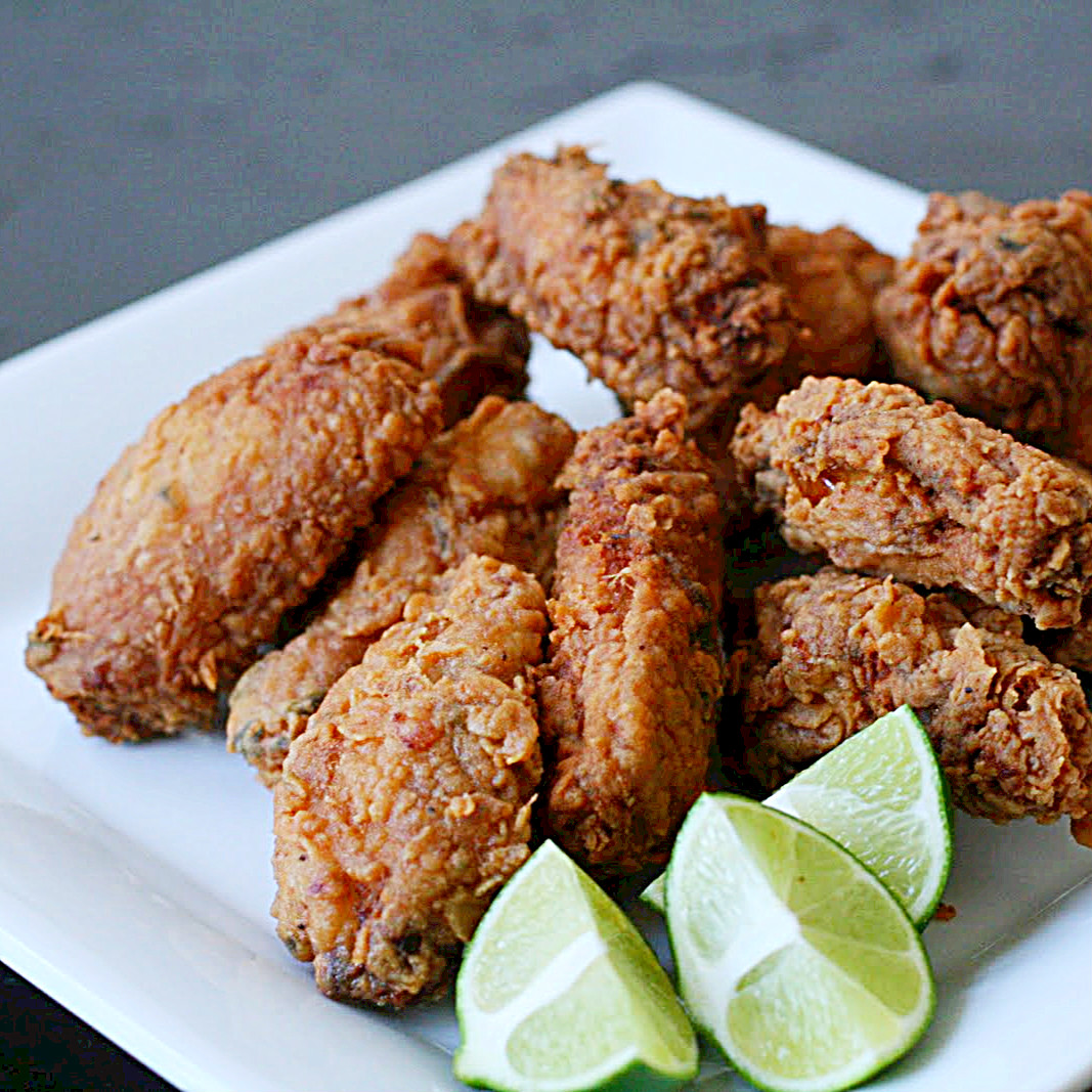 Picture of Asian Fried Chicken Wings (dairy and Egg Free)