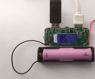 Dual USB Mobile Battery Charger Set Up