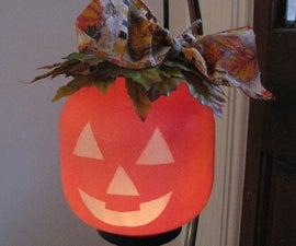 Hanging Candle Holder Pumpkin