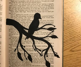 Repurpose an Old Book for Art