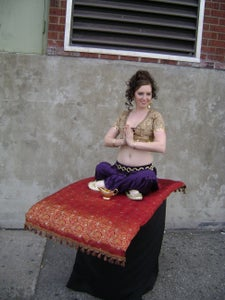 Genie on a Flying Carpet Costume