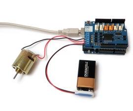 Controlling Motor Using Arduino
