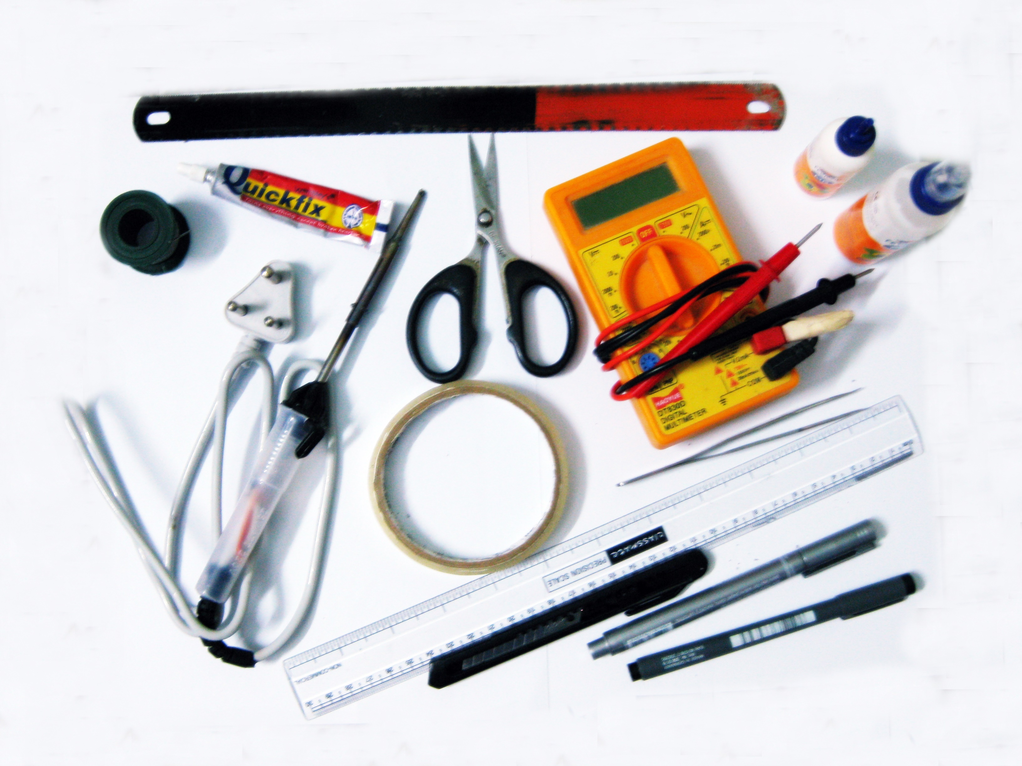 Picture of Materials & Tools Required