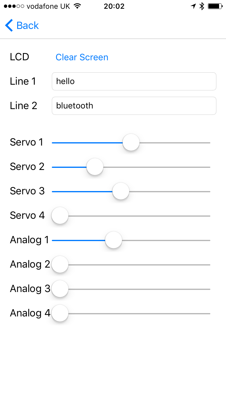 Picture of Controlling Devices in Swift With BLE