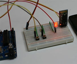 Control Arduino with Android Phone via Bluetooth
