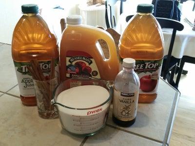 Combine 1st Set of Ingredients
