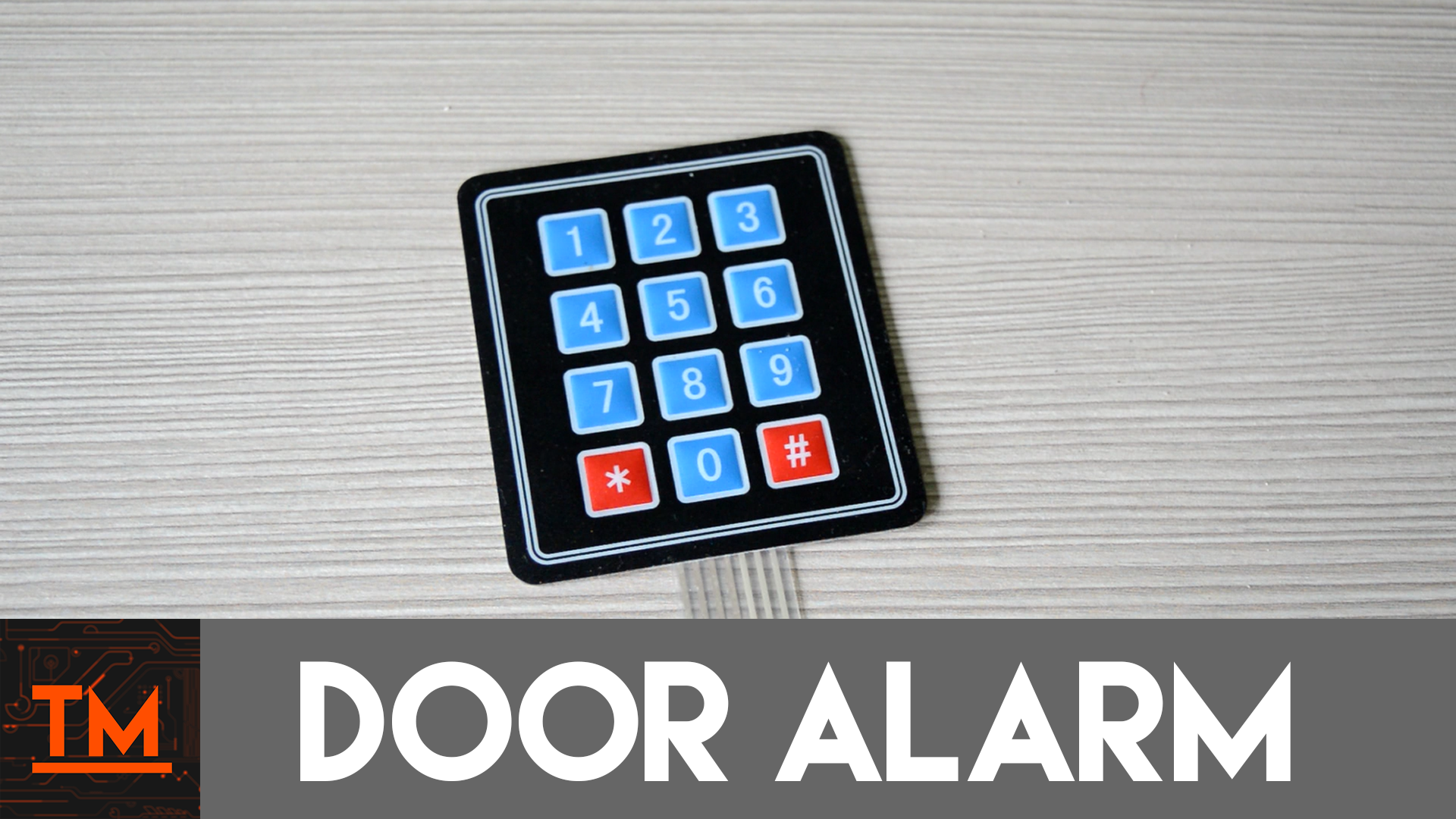 Picture of Arduino Door Alarm With Keypad