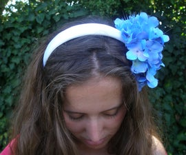 How to make a glowing flower headband