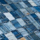 jeans rug