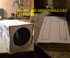 Poopy-The Disposable Cat litter box