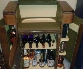 1940s Radio Bar