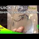 Fishing Leader Storage Case