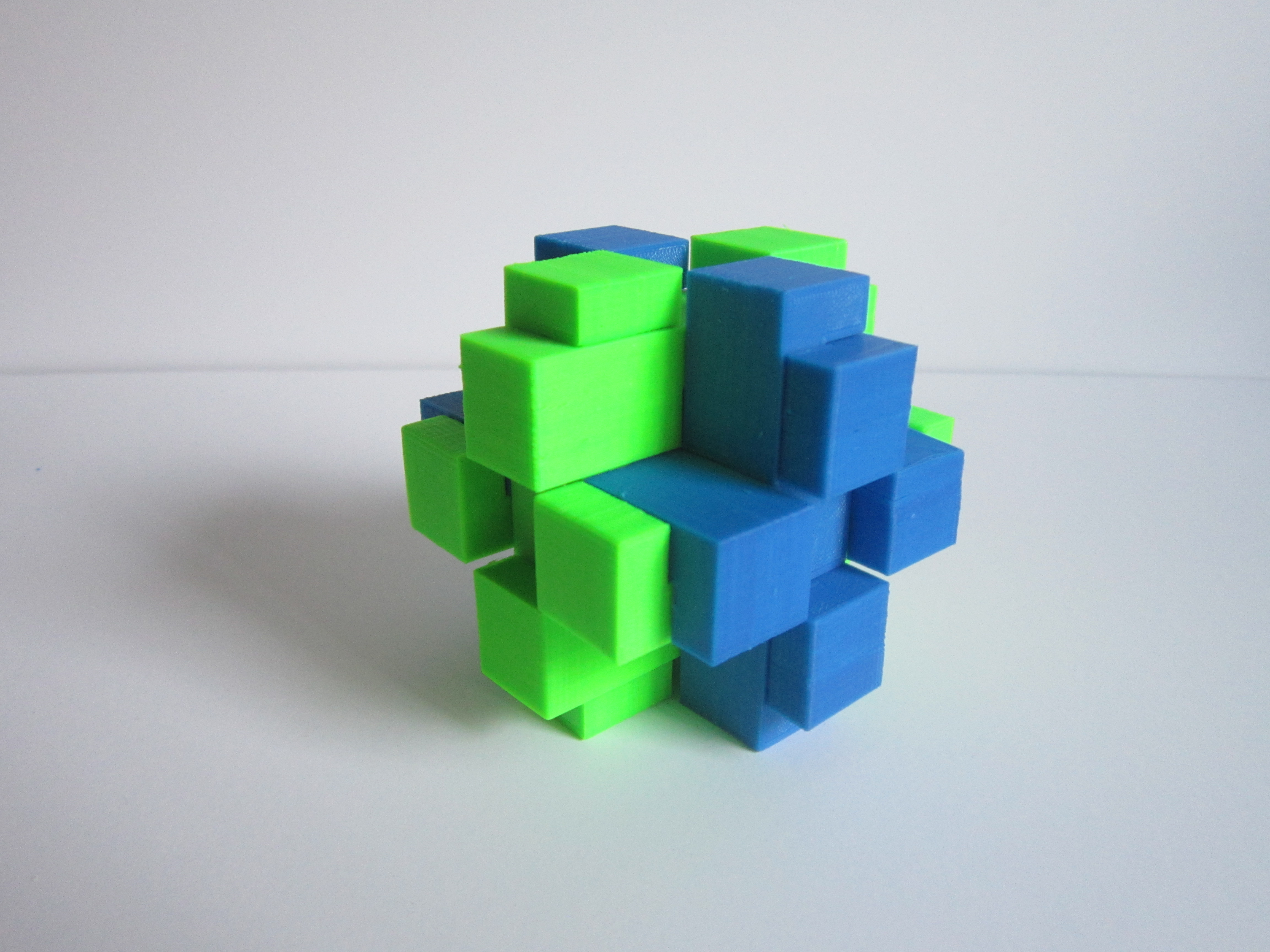 Picture of 3D Printed Brain Teaser Puzzle