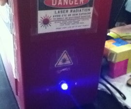 How to Make a Burning 1-2W 445nm Blue Laser