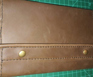 Leather Moleskine Journal Cover