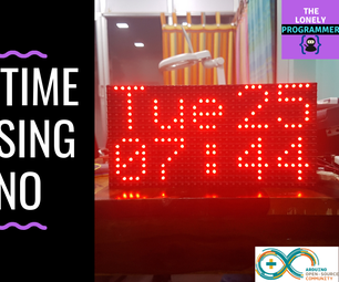 Big Real Time Clock Using Arduino