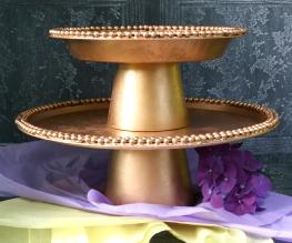 DIY Elegant Cupcake/Dessert Stand