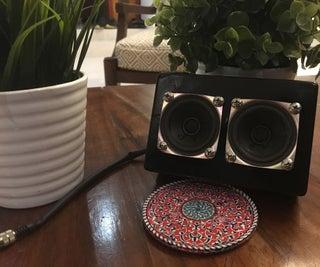 DIY Mini Portable Speaker