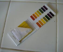 DIY Ultraviolet Light Indicator Strips