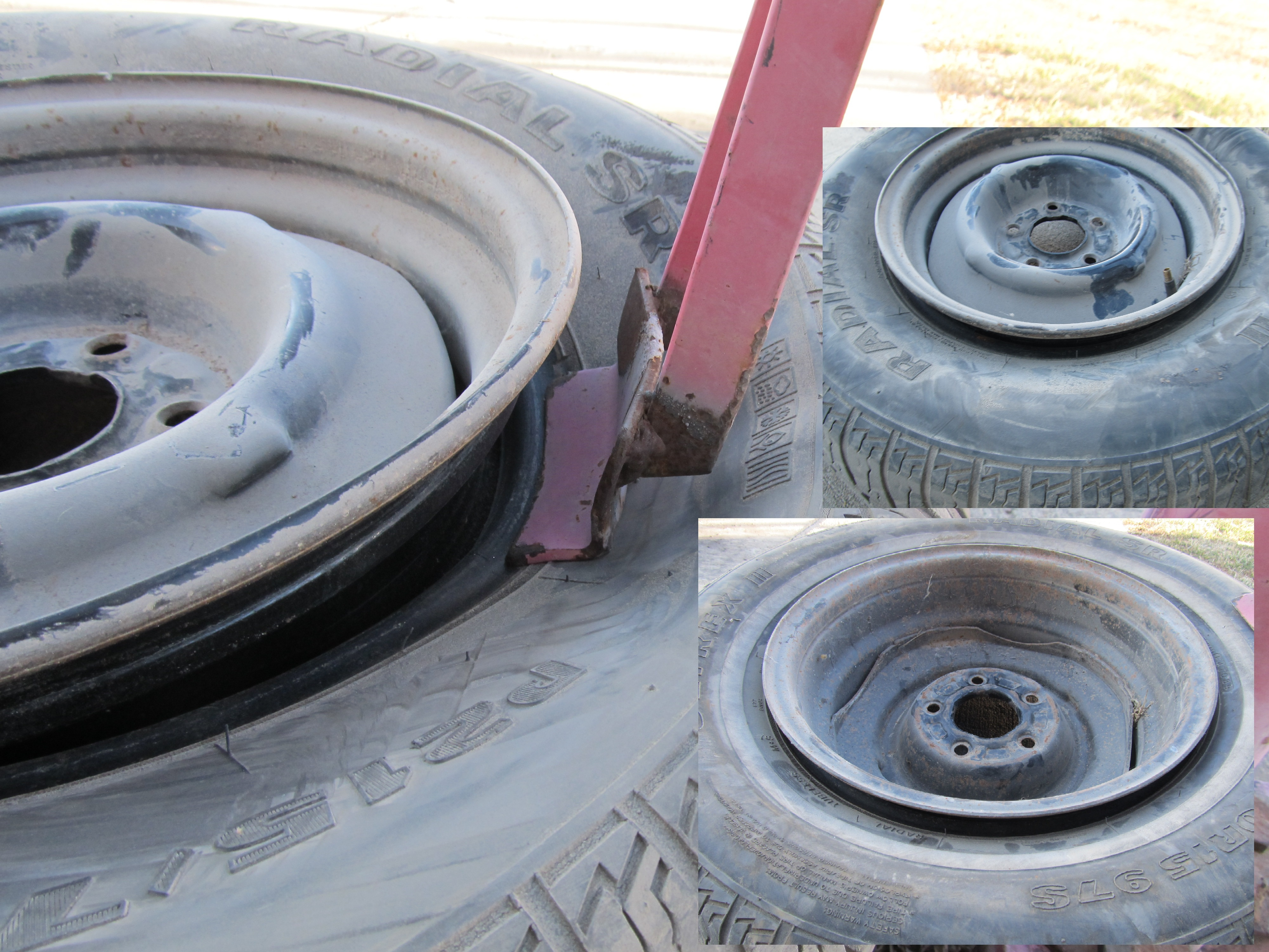 Picture of Deflate Tire and Break Bead