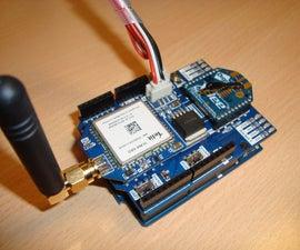 Envío de Temperatura a ThingSpeak por medio de 3G