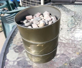 Water Filter : Tuna Can Cartridge System