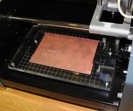 PCB milling bed for Modela MDX-20
