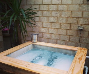 IBC Above Ground Plunge Pool