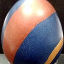 Colorful Polymer Clay Egg