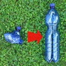 Restoring a Plastic Bottle Shape Without Blowing in It!