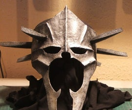 How to make an armour mask