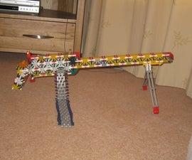 My Knex Browning M1919 Model