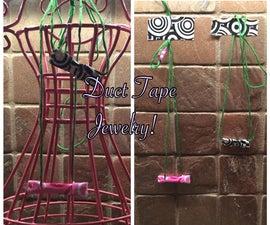 DIY Duct Tape Bead Necklaces or Bracelets :)