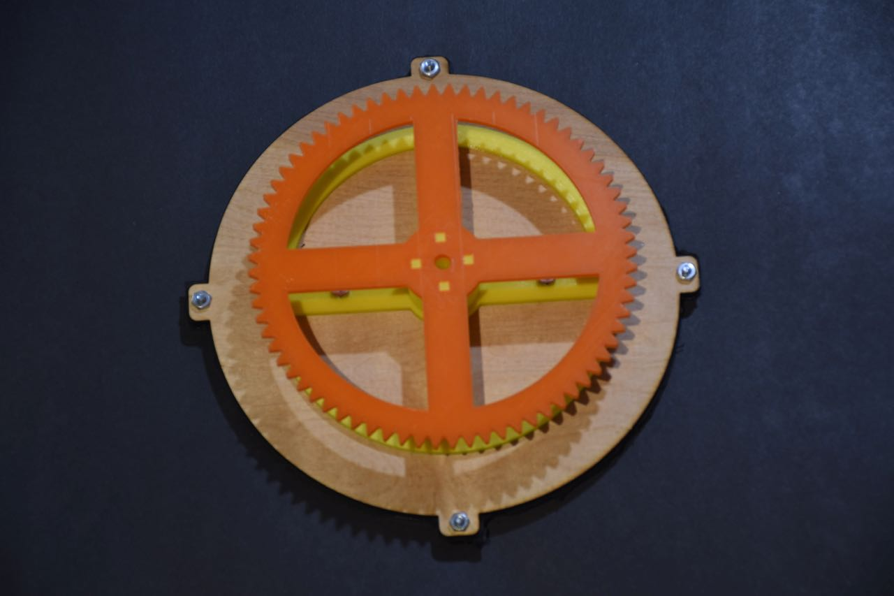 Picture of Assemble the Mechanical Parts for the Clock