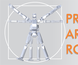 PRINTABLE  ARTICULATED ROBOT P.A.R
