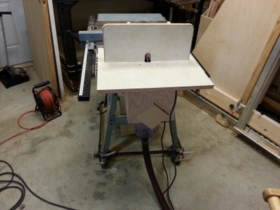 Add a Router Table With Dust Collector to Your Table Saw