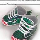 DIY Dinosaur Toddler Shoes