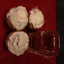 Harvest Muffins with Bourbon Brown Sugar Buttercream