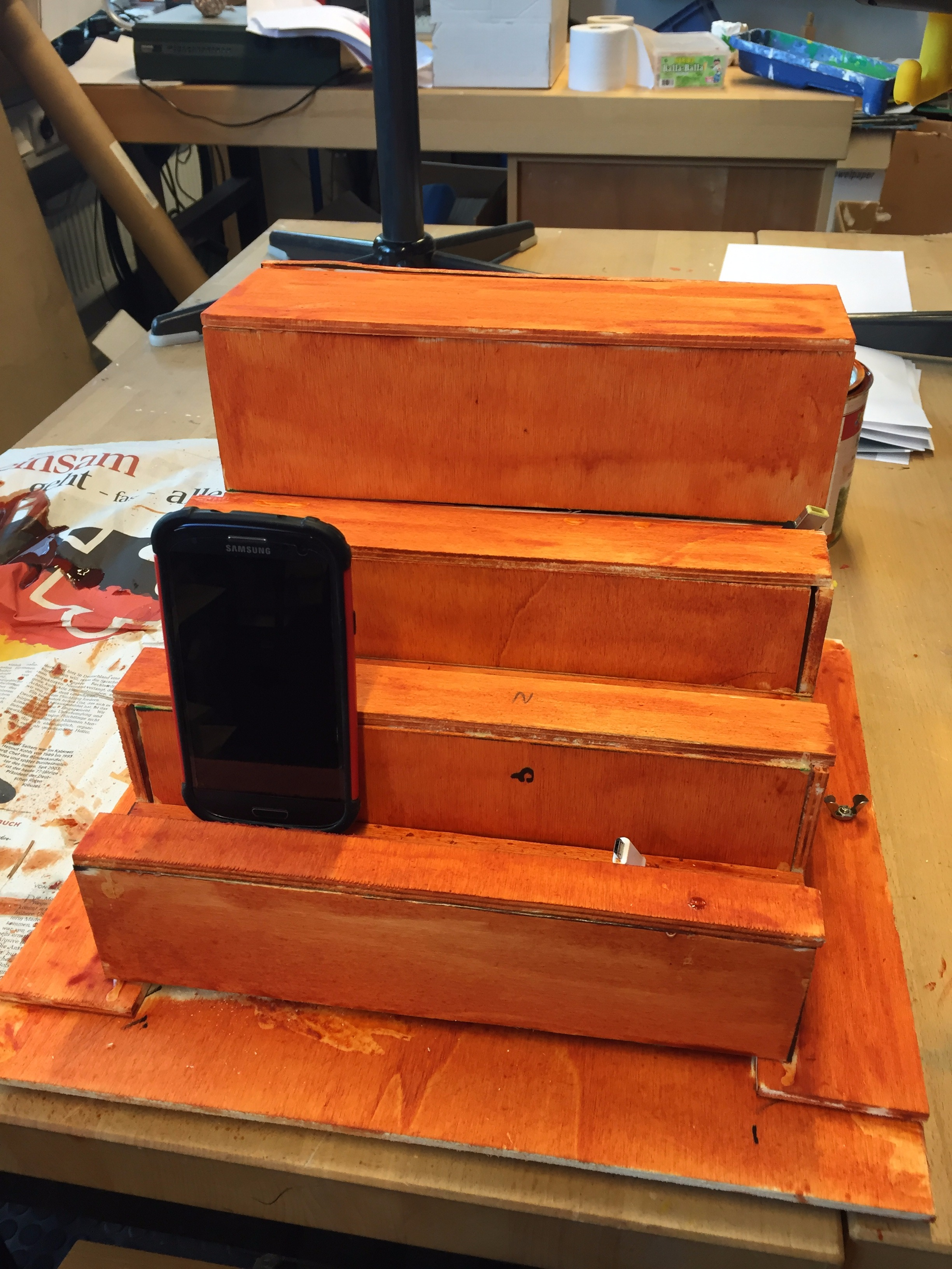 Picture of Charging Station DIY